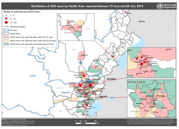 СЗО обяви ебола за заплаха за общественото здраве в международен план