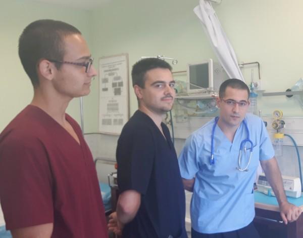 Студенти помагат в Спешното на УМБАЛ Бургас през лятото