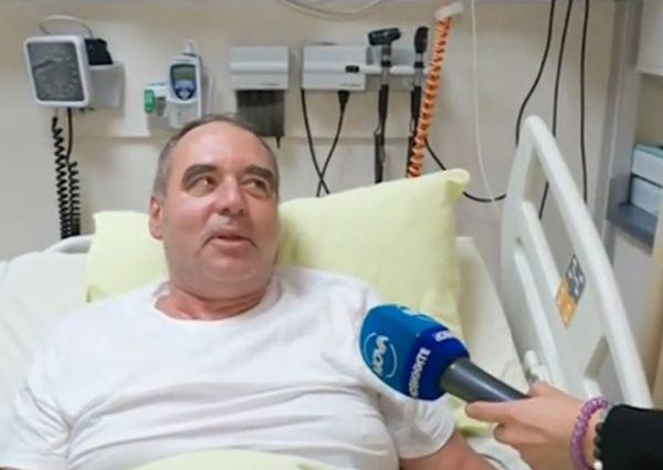 Спасеният от лекари от две болници анестезиолог: Вече съм добре