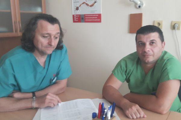 В Бургас върнаха подвижността на пациентка с частична пареза