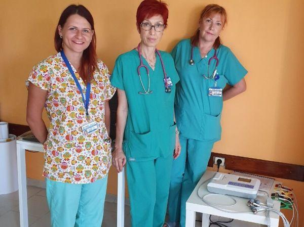 Нов апарат в УМБАЛ-Бургас помага за по-комфортно лечение на децата