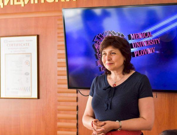 Проф. д-р Марианa Мурджева е новият ректор на МУ-Пловдив