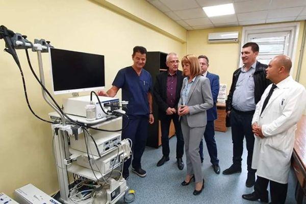 Представиха обновената хирургия на Първа УМБАЛ-София