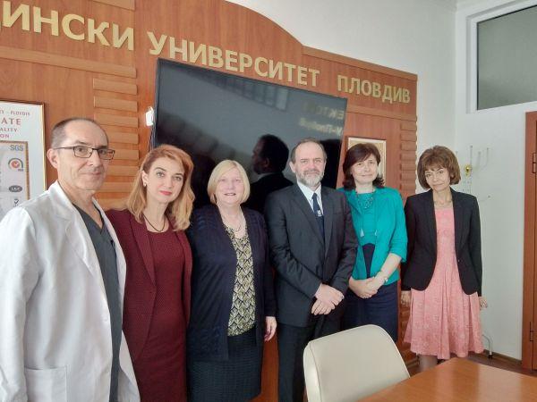 МУ-Пловдив търси  възможности за включване в Европейската мрежа на центровете за клинични изследвания