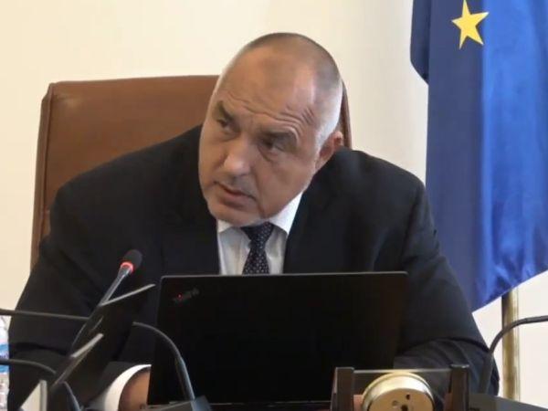 Бойко Борисов и министрите изразиха съгласие да станат донори