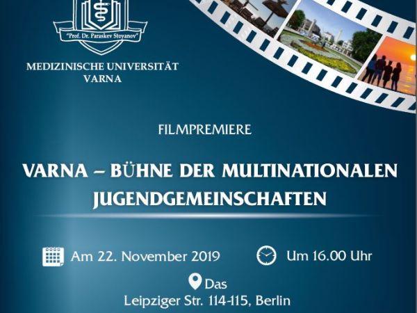 Телевизията на МУ-Варна с дебют в Берлин