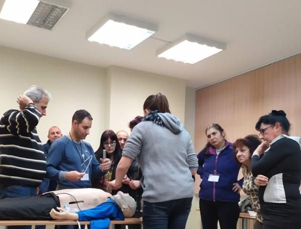322 служители от системата на спешна помощ вече преминаха обучение по проекта ПУЛСС