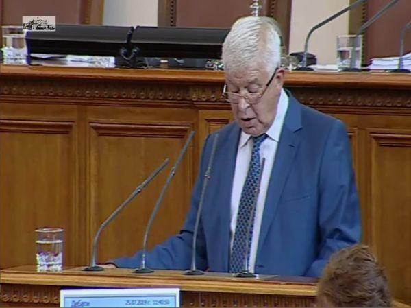 Изслушват Ананиев в парламента за Детската болница
