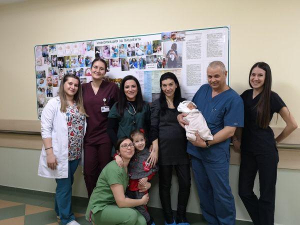 """В УМБАЛ """"Пълмед"""" спасиха бременна и детето й след 23 дни в реанимация"""