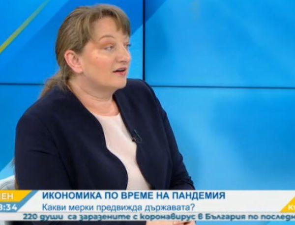Министър Сачева: Искаме бизнесът да бъде сигурен, че няма да се наложат съкращения