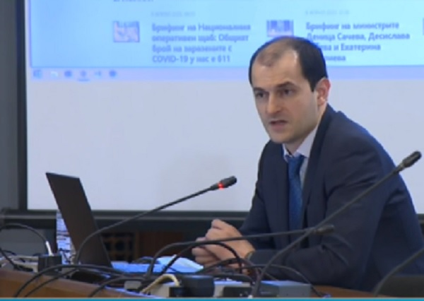 Правителството представи нов информационен портал за COVID-19