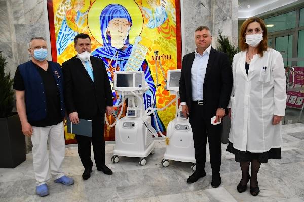 "Дариха два нови респиратора на УМБАЛ ""Св. Марина""– Варна"