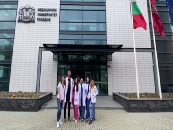 Студентите медици от МУ-Пловдив с апел към приемане на аутизма в Деня на здравето
