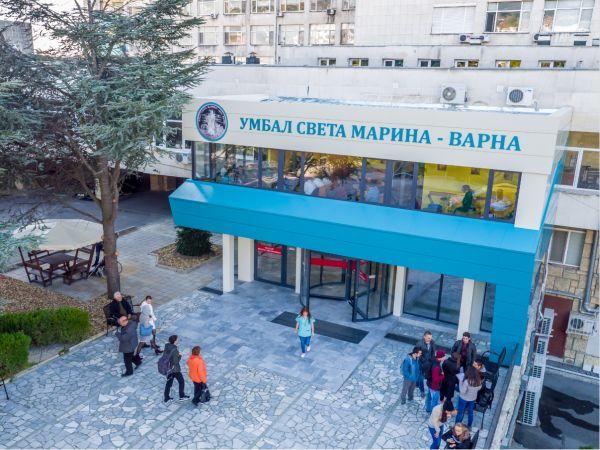 """Близо 200 пациенти с COVID през """"Св. Марина"""" – Варна за седмица"""