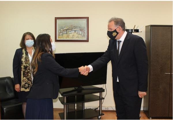 Д-р Кацаров запозна посланик Мустафа с приоритетите си като министър