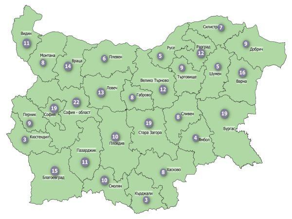 COVID заболеваемост: Цялата страна влезе в зелената зона