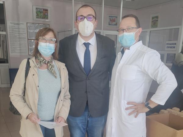 Шест кислородни концентратора получи Детската болница
