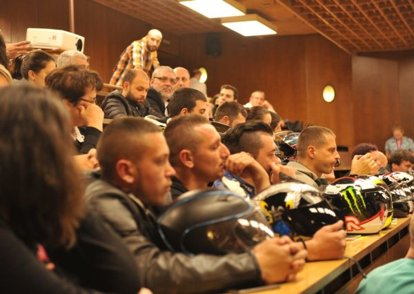 Мотористи участваха в информационна кампания за донорството