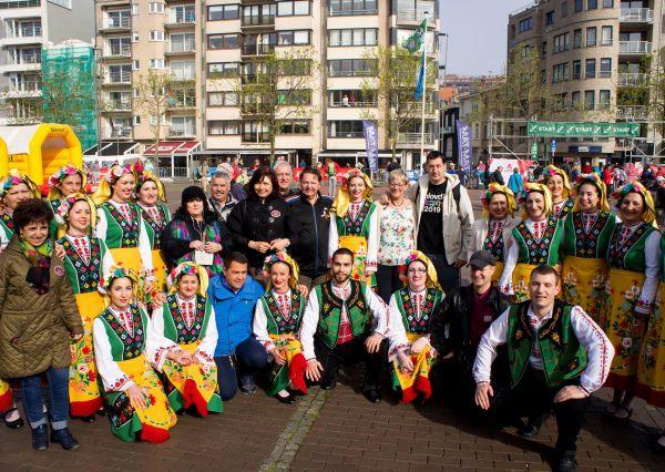 Танцов ансамбъл на МУ-Пловдив участва в международен фестивал в Белгия