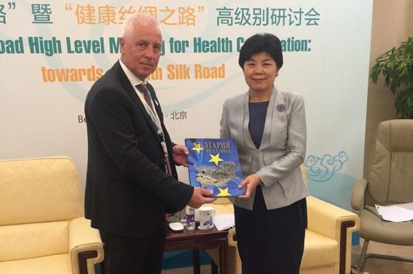 Обменяме опит в сферата на здравеопазването с Китай