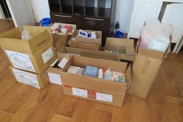Дариха лекарства за 10 000 лв. на бежанския център в Харманли