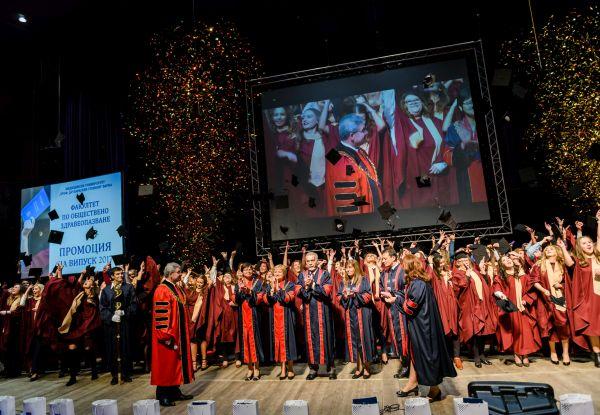 Дипломираха се 271 здравни специалисти от Випуск 2017 на ФОЗ към МУ Варна