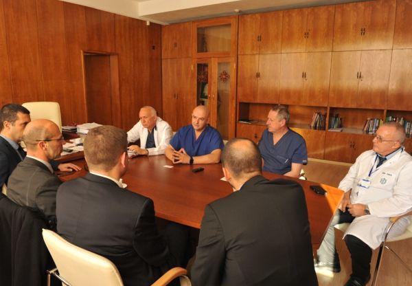 ВМА обсъди възможности за сътрудничество с Медицинският институт на Военните сили на Франция