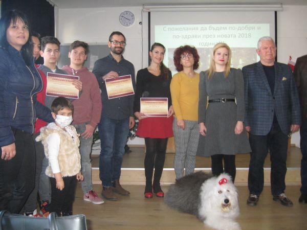 """Клиниката по педиатрия на УМБАЛ """"Свети Георги"""" раздаде сертификати за дарителство"""