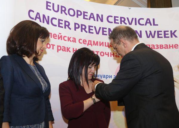 Отбелязваме Европейската седмица за предпазване от рак на маточната шийка