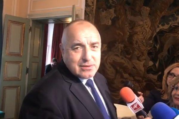 Бойко Борисов вика на среща проф. Плочев и министър Ананиев