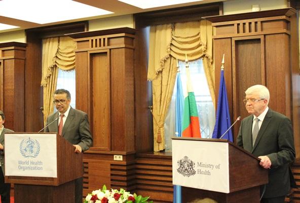 СЗО ще подкрепи здравна реформа в България в областта на осигурителния модел