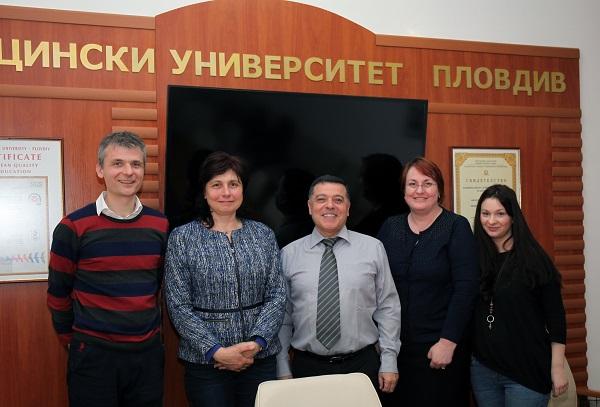 Известни чуждестранни лектори гостуваха в МУ-Пловдив