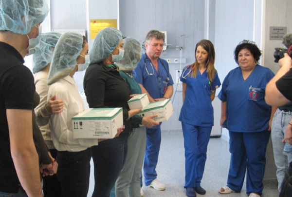 "Дарение в помощ на детската хирургия получи УМБАЛ ""Свети Георги"""