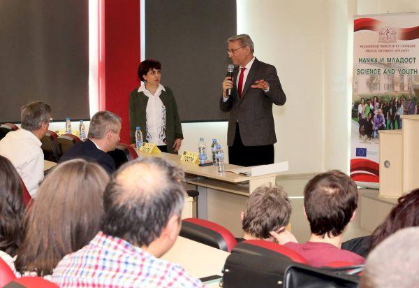 Два форума за наука приключиха успешно в МУ-Пловдив