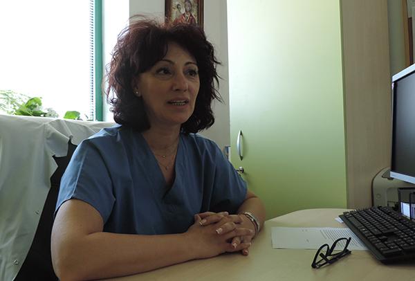Христина Младенова: Същността на медицинската сестра е милосърдието