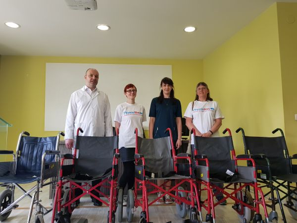"""Пирогов"" получи дарение от 16 инвалидни колички"
