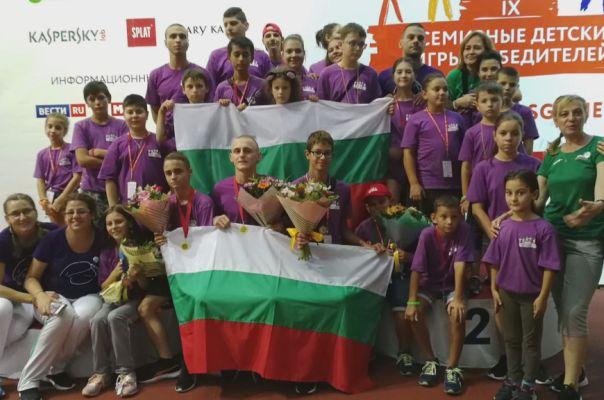 """26 българчета донесоха 29 медала от тазгодишните """"Игри за победители"""""""