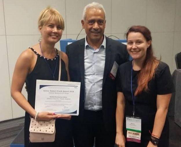Научен екип от МУ-Пловдив взе престижна награда в Лондон