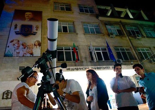 Европейска нощ на учените в МУ – Варна