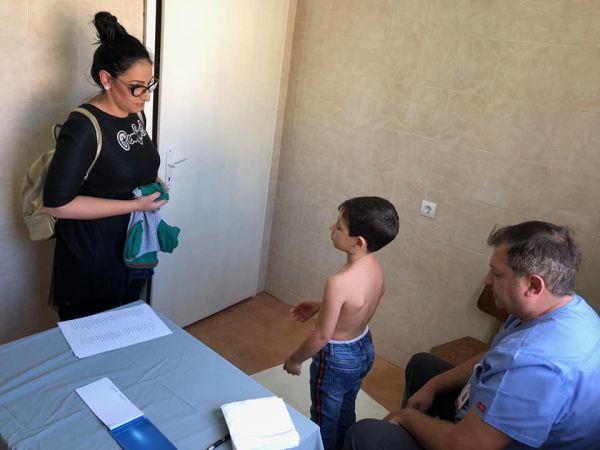 Над 400 деца от Сандански бяха прегледани този уикенд по програмата