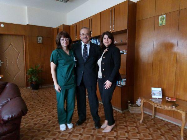 """Малтийски професор гостува на АГ-клиниката на УМБАЛ """"Свети Георги"""""""