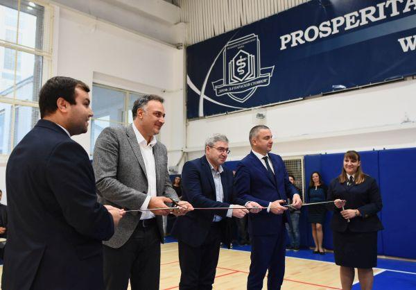 Откриха обновения спортен комплекс на МУ- Варна