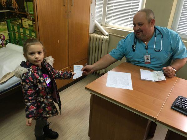 """200 деца от Велико Търново и региона прегледаха специалистите от """"Пирогов"""""""