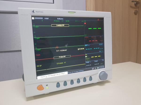 """Дариха модерен монитор на Детската хирургия на """"Пирогов"""""""