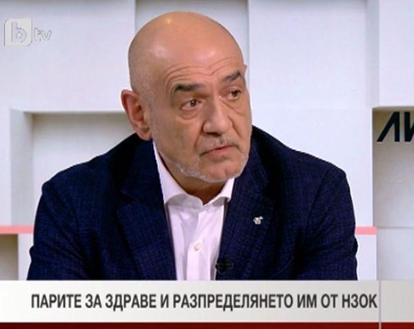 Д-р Дечев: Нужна е по-висока вноска или мерки, които да докарат повече средства в НЗОК