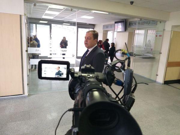 БЛС снима клип срещу насилието над медици