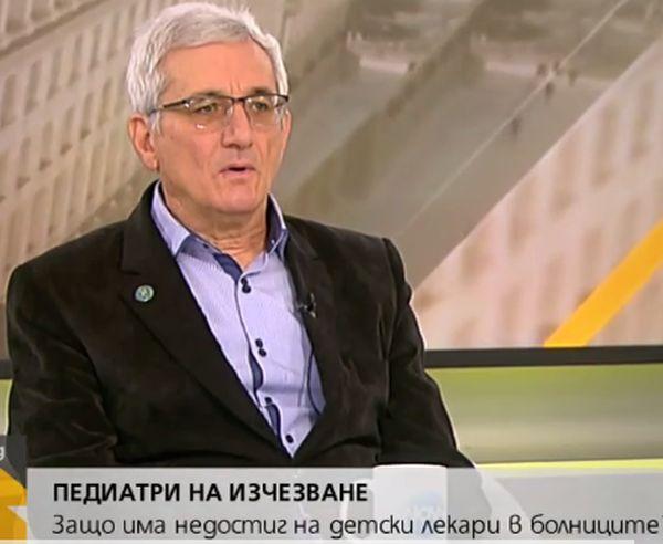 Д-р Димитър Калайков: Педиатричната общност е от най-ниско платените
