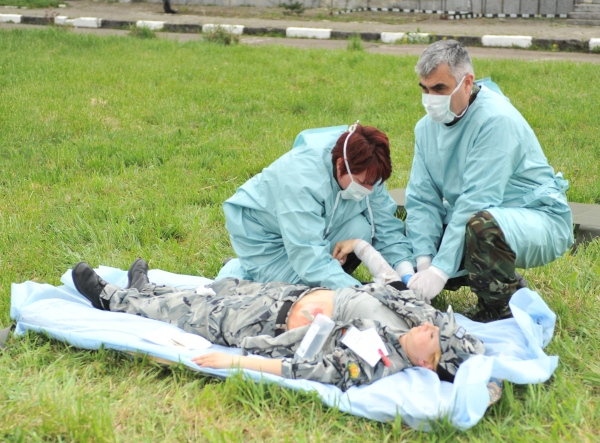 Демонстрират спасителни действия при бедствие с голям брой пострадали