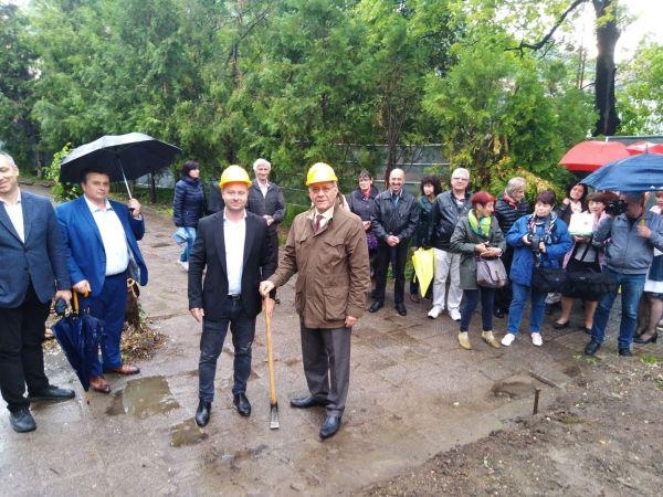 Започна строеж на модерен учебен корпус в МУ-Пловдив