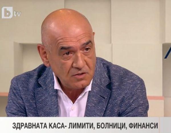 Д-р Дечо Дечев: Там където една болница не може да постигне резултати, да се търсят други управленски решения